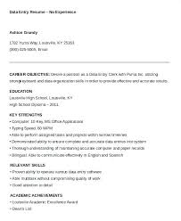 Resume Examples Typing Skills Also Samples Office Manager