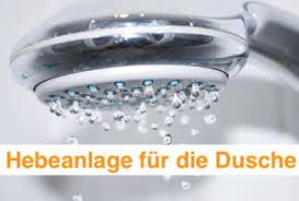 hebeanlage dusche test ratgeber für das bad