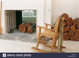Rocking Chair Fireplace Stock Photos & Rocking Chair ...