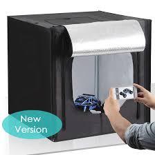 104 Studio Tent Agora Kamera Photo Light Box 50 50cm Professional Photography With Led Lighting Foldable Photo Box White Black Orange Backdrops