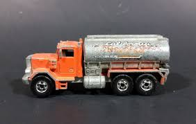 1981 Hot Wheels Peterbilt Tanker Truck California Construction ...