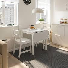 nordviken nordviken tisch und 2 stühle weiß weiß ikea