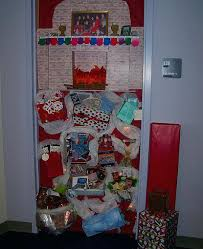 simple office decorations for christmas easy office door