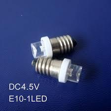 high quality dc4 5v led e10 warning lights e10 led bulbs e10 led