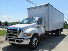 USED 2005 FORD F650 BOX VAN TRUCK FOR SALE IN NC #1131