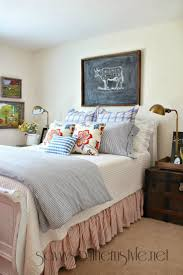 Savvy Southern Style Farmhouse Guest Room Spring 2014