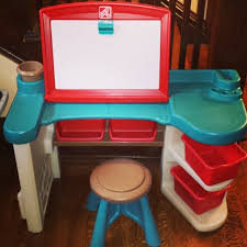 Step2 Deluxe Art Desk by Step 2 Desk It Is Compact Enough For Him To Fit In Comfortably