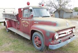 100 1953 Ford Truck For Sale F600 Fire Truck Item AW9426 SOLD December 17