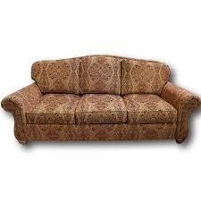 Ethan Allen Sofa Bed by Ethan Allen Camelback Sofa Upscale Consignment