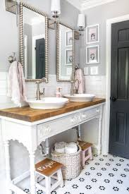 Girls Bathroom Decor Details And Sources - Bless'er House Femine Girls Bathroom Ideas With Impressive Color Accent Amazing Girly Bathroom Without Myles Freakin Home Maison Deco Salle 30 Schemes You Never Knew Wanted Remodel Seafoam Green Bathrooms Turquoise Bathrooms Alluring Design Of Hgtv For Fascating Collection In With Tumblr 100 My Makeover Inzainity Coral W Teal Gray Small Basement Designs Best 25 1725 Dorm 2019 Decor Vanity Stools Stickers Stars And Smiles Cute For Pleasant Bath Experiences Homesfeed Farmhouse 23 Stylish To Inspire
