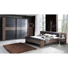 schlafzimmer bellevue schlammeiche nb schwarzeiche nb inkl kleiderschrank bettanlage i