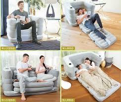 zwei menschen sitz und 1 raum wohnzimmer sitzsack stuhl air 2 in 1 faltbare aufblasbare sofa betten und stuhl