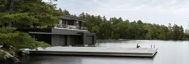 100 Boathouse Architecture Charred Cedar Clads Ontario Lake Boathouse By Akb Architects Lake