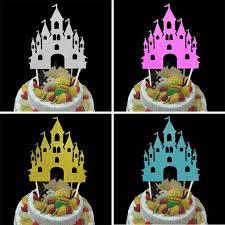 1 Pc Burg Cupcake Kuchen Topper Kreative Fahnen Glucklich Geburtstag Dekoration Weihnachten Home Abendessen Backen