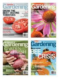Organic Gardening Magazine Subscription ly $4 50 a Year e