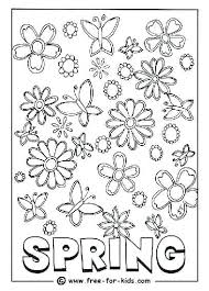 Spring Coloring Pages For Toddlers Printable Colouring Page Of