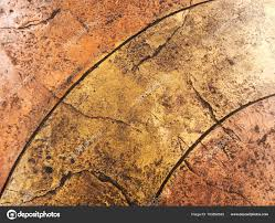 Brown Natural Stone Floor Texture Background Perspective View Stock Photo
