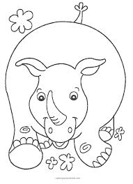 Dibujo Para Colorear Animales Salvajes De La Selva Animales 1 Dibujos Para Colorear Para Ninos De Animales Salvajes
