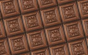 Do All Acoustic Ceiling Tiles Have Asbestos by Milan Antique Copper Faux Tin Ceiling Tiles