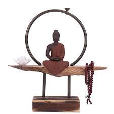 Amazoncom DEAI Elegant Vintage Ceramics Zen Tathagata Buddhism