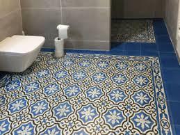 details zu 1m zementfliesen iraquia blau bodenfliesen fußboden badezimmer küche flur