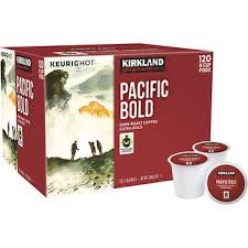 Kirkland Signature Pacific Bold Coffee Dark 120 K Cup Pods