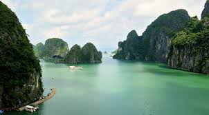 Ha Long Bay Remains The Most Visited Tourist Attraction In Vietnam This 75 Mile 120 Kilometer Coastline Literally Translated As Of