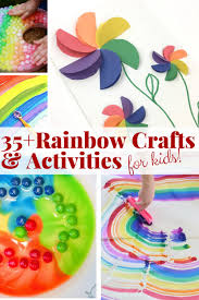 Rainbow Crafts And Activities Create Educational Fun Toys Find Books