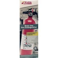 Kidde Semi Recessed Fire Extinguisher Cabinets by Basic Fire Extinguisher Walmart Com
