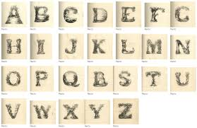 Typography The Landscape Alphabet
