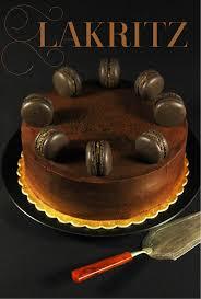 das schwarze süße gold schokoladen lakritz torte maren