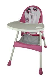 amazon com baby diego 2 in 1 high chair pink baby