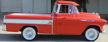 100 Classic Truck Central 1955 Chev Cameo Theres One Here That Was Imported In The 1970s
