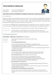 Sample Resume Banker For Bank Jobs Freshers Feat Assistant Manager