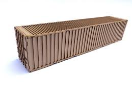 100 40ft Shipping Containers LX175OO Container Kit Pack Of 2 OO 4mm 1 76