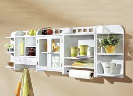 küchenregal weiß 3tlg set hängeregal regalschrank