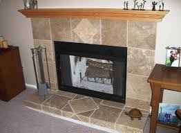 best fireplace designs with tile on interior with and tile
