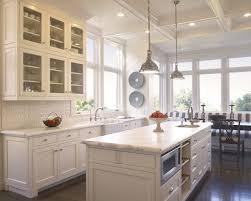 White Kitchen Design Marble Gast Architects Cecyj
