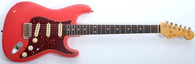 Fender Custom Shop Limited 62 Stratocaster Relic With Abbys Fiesta Red