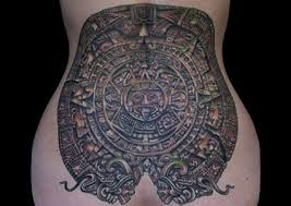 Mayan Calendar Gang Tattoo