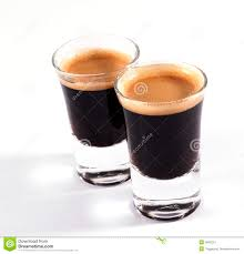 Espresso Shots Stock Photo Image Of Strong Baristas