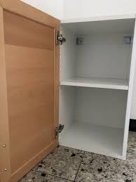 ikea faktum 40x70 hängeschrank schrank küche weiß kalsebo buche