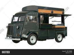 100 Green Food Truck Eatery Cafe Image Photo Free Trial Bigstock