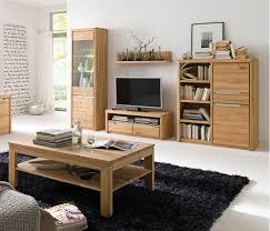 wohnzimmer pisa 46 eiche bianco massiv 5 teilig wohnwand couchtisch expendio
