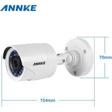 ip filaire exterieur annke kit éra de surveillance filaire 4ch 5 en 1 dvr 3mp