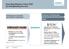 siemens dresser rand synergies 100 images siemens faces big