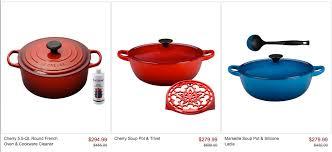 le creuset pots prices zulily up to 40 le creuset cookware modmomtv