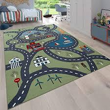 paco home kinder teppich für kinderzimmer spiel teppich mit