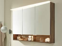 laguna wings spiegelschrank led mit beleuchteter ablage