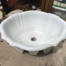best sherle wagner handmade in italy porcelain sink for sale in